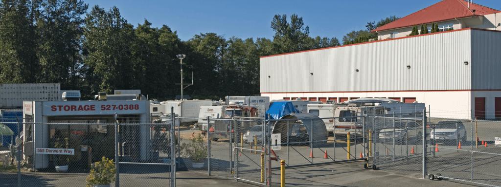 Annacis Lockup self storage facility Greater Vancouver